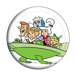 Jetsons - Family in Ship Button