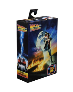 "Back to the Future 7"" Ultimate  Marty McFly Action Figure"