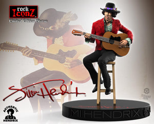 Jimi Hendrix II Rock Iconz Statue - Limited Edition in Resin