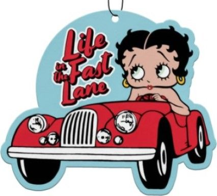 Betty Boop 3-pack Life In The Fast Lane Air Freshener