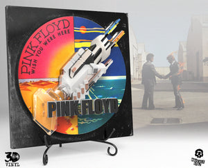 Pink Floyd 'Wish You Were Here' 3D Vinyl Album Cover - Limited Edition in Resin