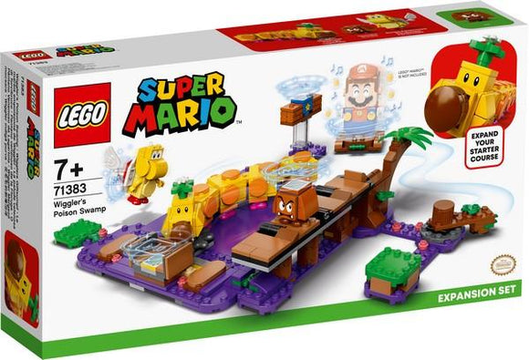 Super Mario - Wigglers Poison Swamp LEGO