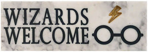 Harry Potter - Wizards Welcome Desk Sign