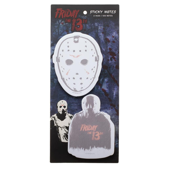 Friday the 13th Jason Sticky Notes