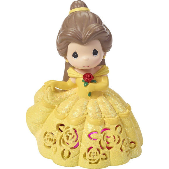 Beauty & the Beast - Belle Musical Light Up Dress Precious Moments