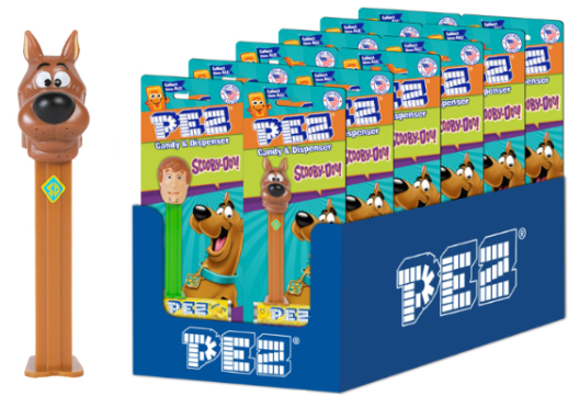 Scooby-Doo - Scooby Blister Pack PEZ