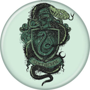 Harry Potter - Slytherin Crest Button
