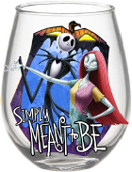 Nightmare Before Christmas - Simply Meant to Be 20oz Stemless Glass