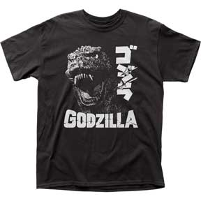 Godzilla - Scream Black  TEE