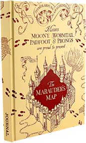 Harry Potter - Marauder's Map Journal