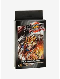 Dragon Ball Z - Fighter Playing Cards