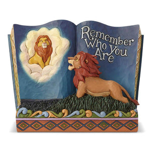 "Lion King - ""Remember Who You Are"" Storybook Jim Shore"