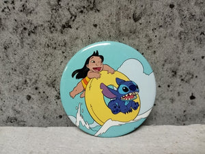 Loungefly - Lilo & Stitch Tubing Button