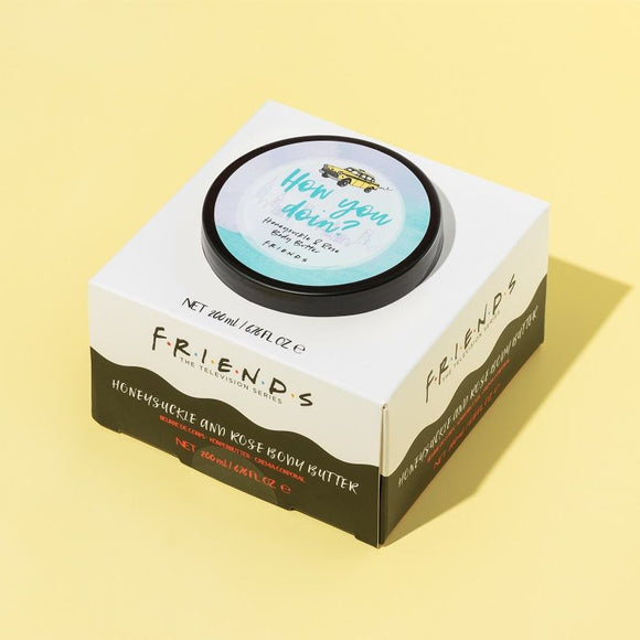 Friends - Honey Suckle & Rose Body Butter