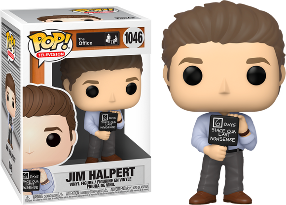 POP! The Office - Jim Halpert with Nonsense Sign