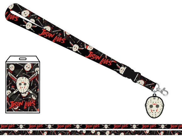 Friday the 13th - Jason Mask & Machetes Lanyard