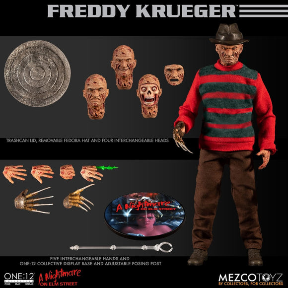One:12 - Nightmare on Elm Street - Freddy Figure