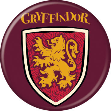 Harry Potter - Gryffindor Shield Button