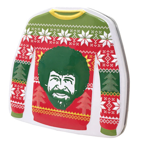 Bob Ross - Sweater Candy Tin