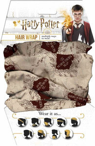 Harry Potter - Marauders Map Hair Wrap