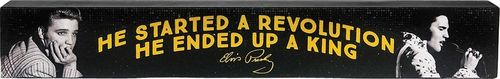 Elvis Long Wood Sign