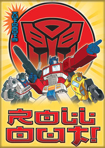 Transformers - Optimus Prime Roll Out Magnet