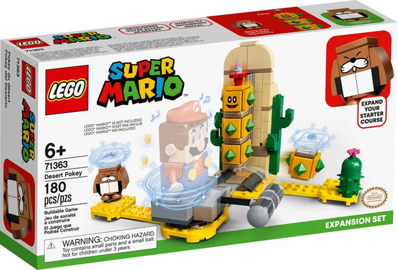 Super Mario - Desert Pokey Expansion Lego