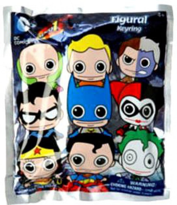DC Comics Series 1 Mystery Keychain (Discontinued)