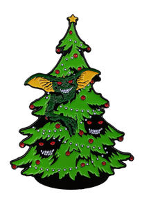 Gremlins - Stripe Christmas Tree Enamel Pin