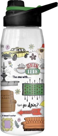 Friends - Icons 28oz Water Bottle