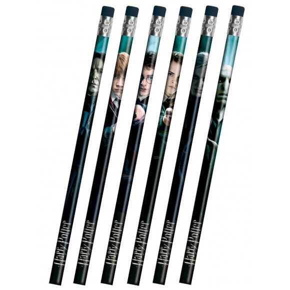 Harry Potter - 6pk Pencils