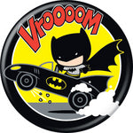 Batman Chibi Vrooom Button