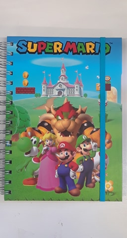 Super Mario - Wire Spine Notebook