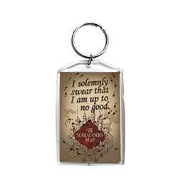 Harry Potter Marauders Map Keychain