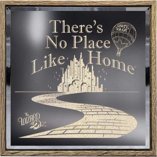 Wizard of Oz - No Place Like Home Light Up Sign