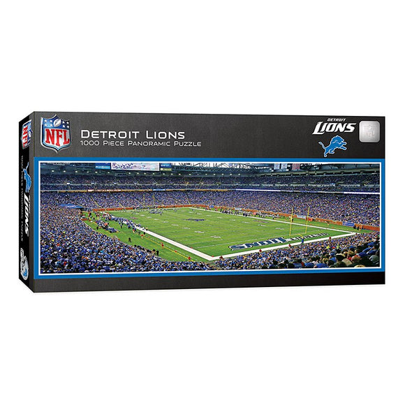 Detroit Lions Panoramic 1000pc Puzzle