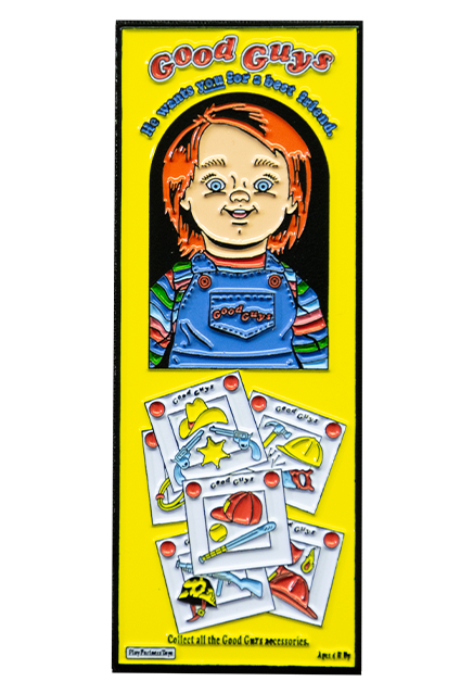 Child's Play - Chucky Box Enamel Pin