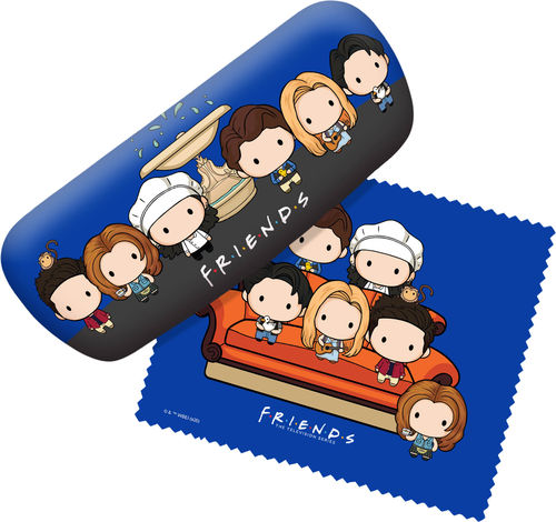 Friends - Chibi Group Eyeglasses Case
