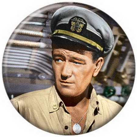 John Wayne - Navy Button - Disc