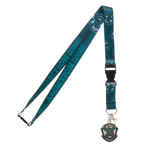 Harry Potter - Slytherin Crest Lanyard
