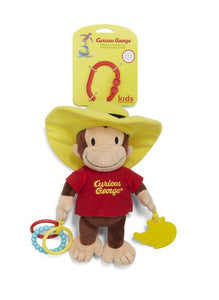 Curious George Activity Pull Plush