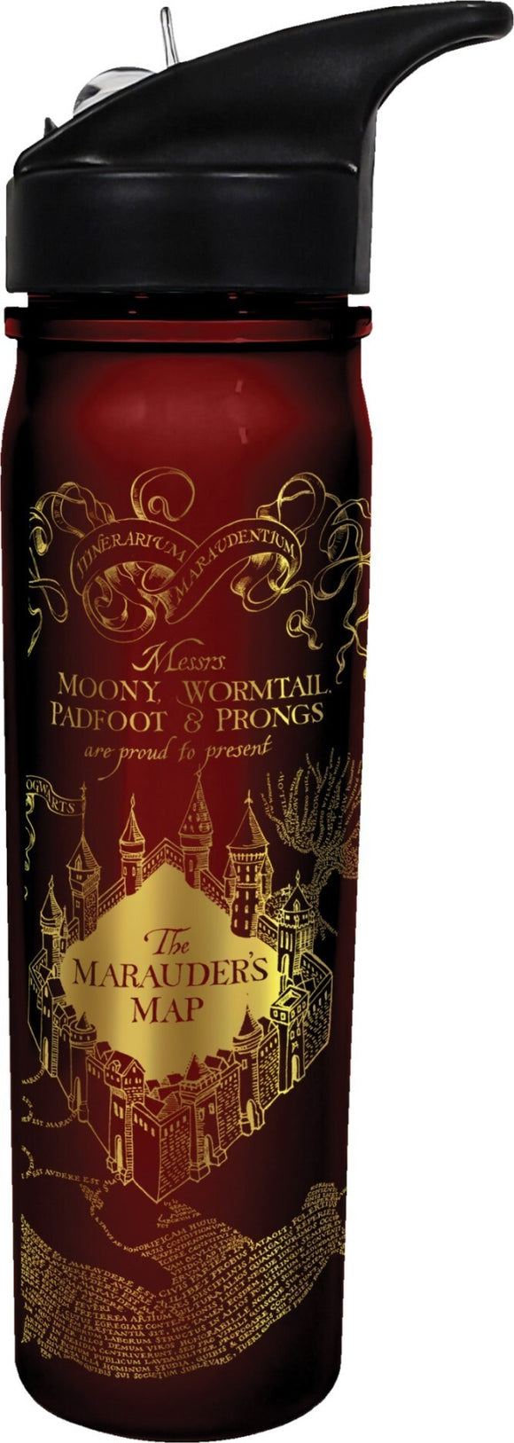 Harry Potter - Marauders Map Flip Top Bottle