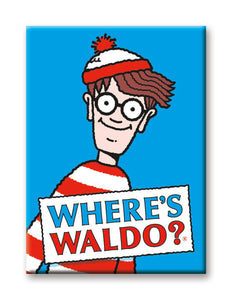 Where's Waldo? Magnet