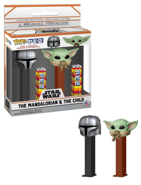 POP! PEZ - Star Wars: Mandalorian & Child 2pk