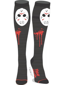 Friday The 13th - Cosplay Kneehigh Socks
