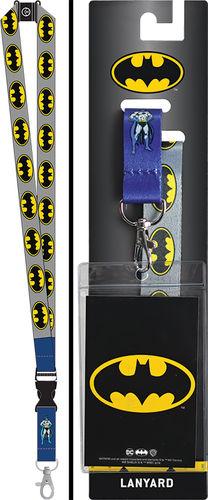 Batman Detachable Lanyard with Card Holder