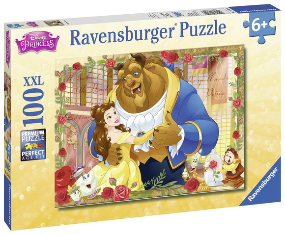 Beauty & The Beast Belle & Beast 100Pc Puzzle