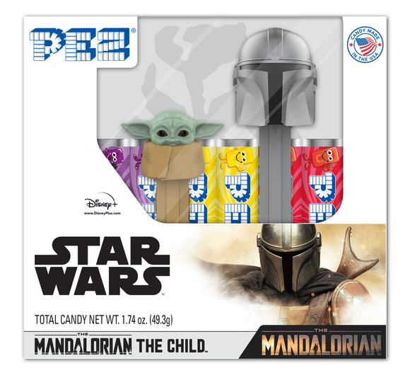 Star Wars - Mandalorian & The Child 2pk PEZ