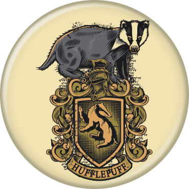 Harry Potter - Hufflepuff Crest Button