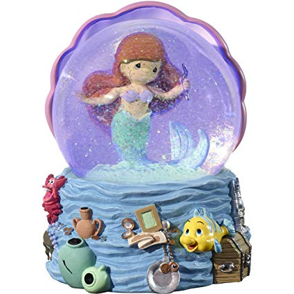 Ariel Musical Light Up Globe Precious Moments